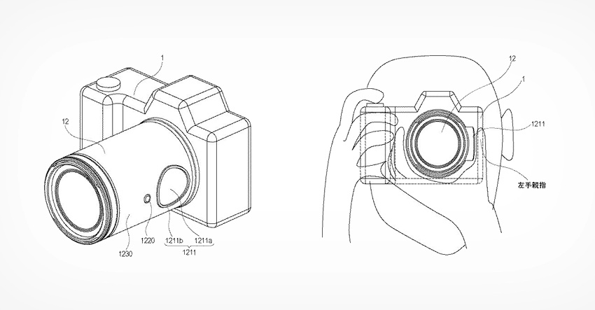 CANON WILL USE THE TOUCHPAD ON THE LENS