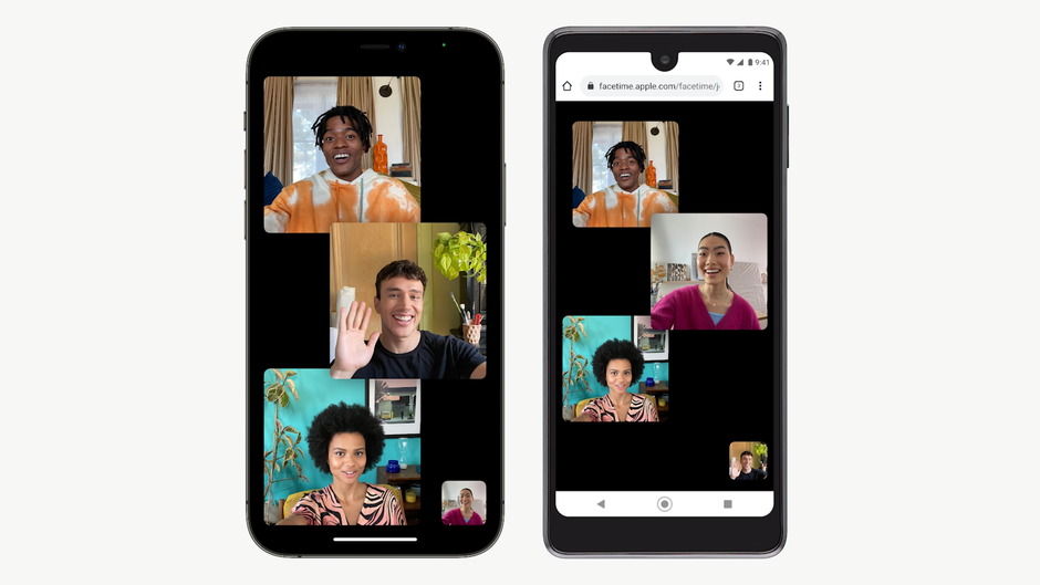 APPLE FACETIME CAN BE ACCESSED FROM ANDROID AND WINDOWS