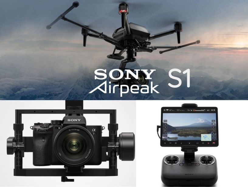 SONY OFFICIALLY RELEASED THE AIRPEAK S1 DRONE, WHICH COSTS USD 9,000