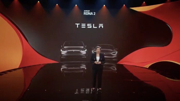 TWO NEW TESLA CARS WITH NEW GENERATION AMD MOBILE GPU