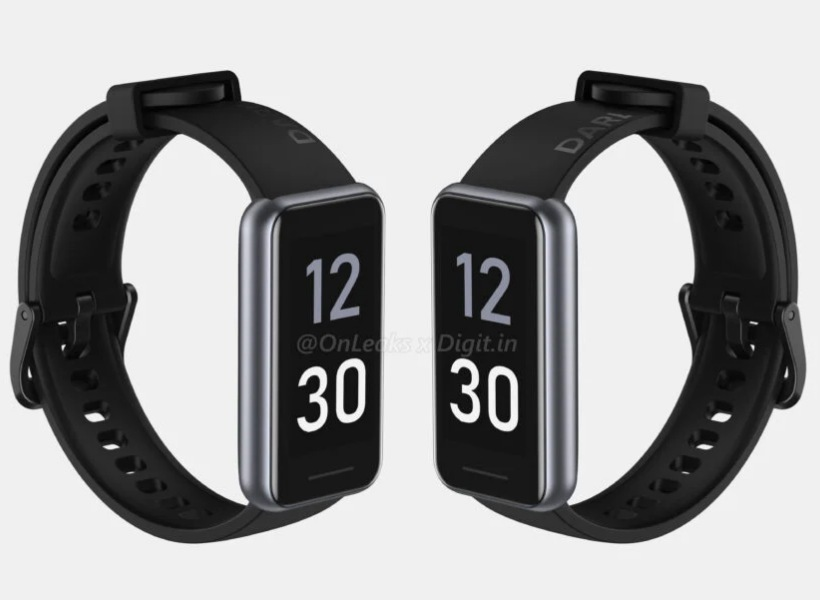Here's what the realme Band 2 looks like