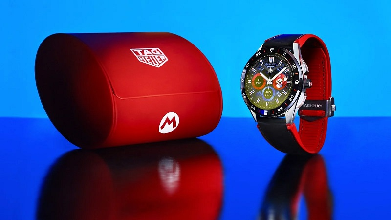 SMARTWATCH TAG HEUER SUPER MARIO VERSION ONLY 2,000 UNITS PRODUCED
