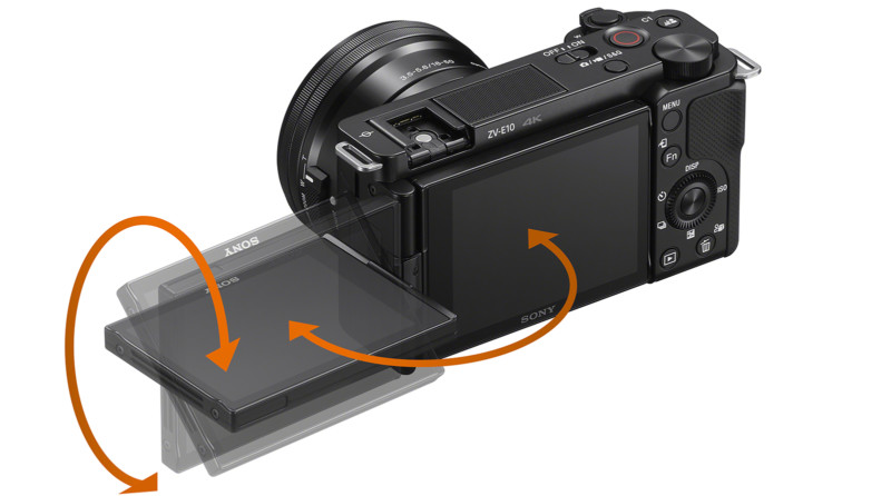 Sony releases ZV-E10, mirrorless exclusively for vloggers