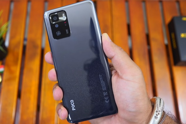 Design of the POCO X3 GT which will be released on July 28