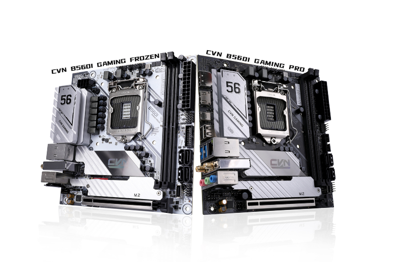 COLORFUL Presents 2 Motherboards CVN B560I Gaming Frozen and CVN B560I Gaming Pro