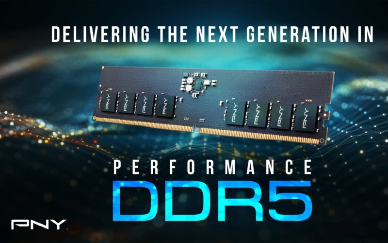 PNY Prepares Two New DDR5 RAM