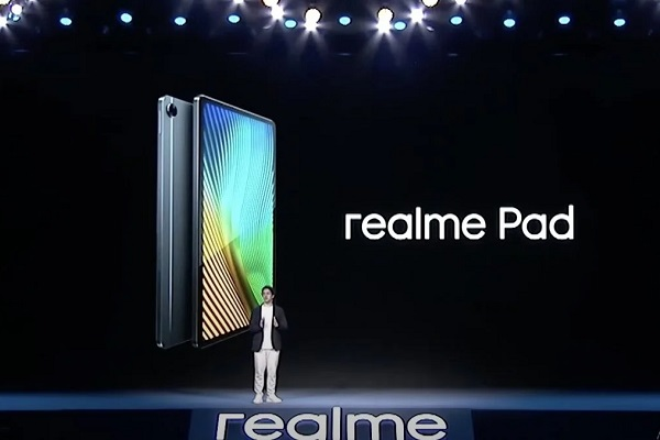 Realme Pad will come with a 10.4-inch AMOLED screen