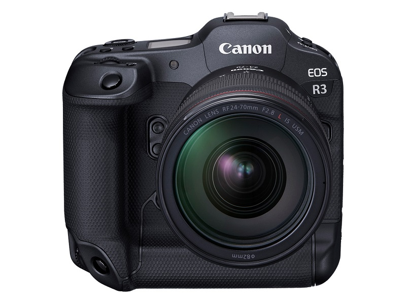 Canon EOS R3 has a focus feature from the viewfinder