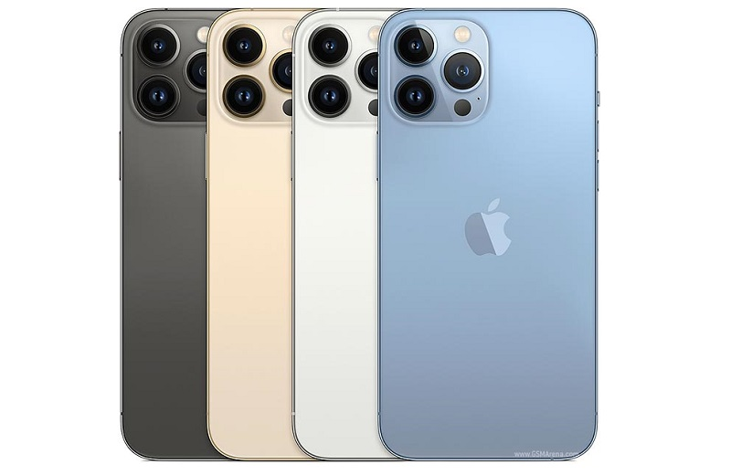 Specifications and prices of the iPhone 13 Pro, Pro Max, and have a 120Hz refresh rate