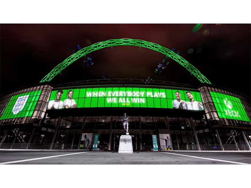 Xbox is officially a partner for the England national football team