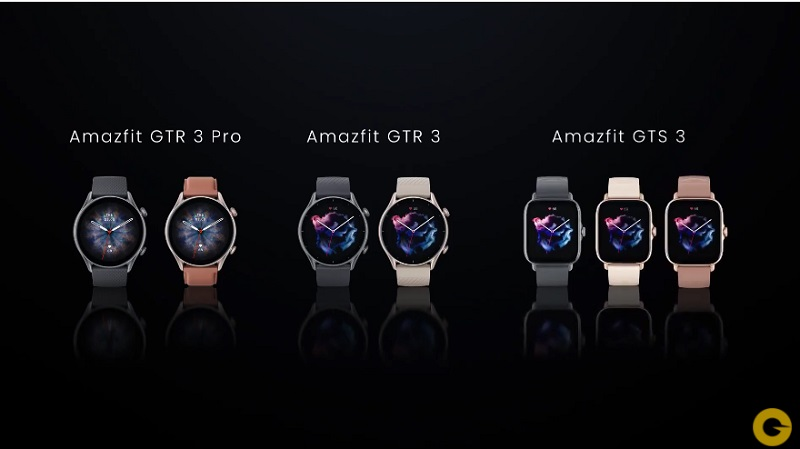 Amazfit releases 3 smartwatches with AMOLED