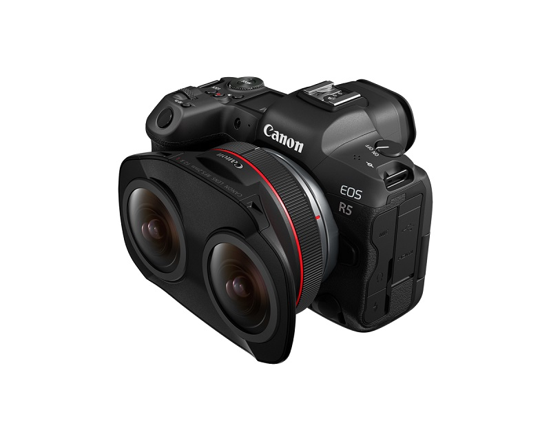 Canon releases world's first dual fisheye lens